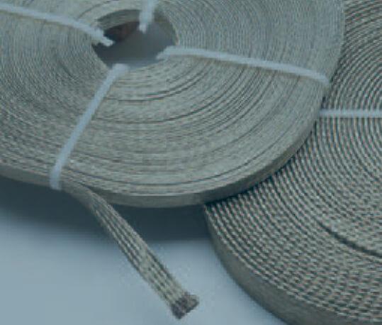 cable trenzado plano de cobre estañado