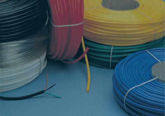 funda macarrón de PVC para cables